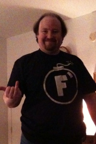 F-Bomb t-shirt from Rizzo Tees