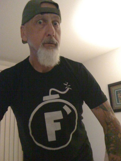 F-Bomb tee from Rizzo Tees