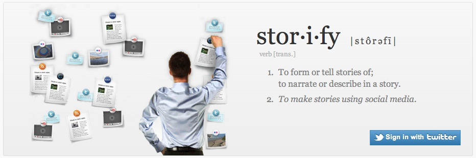 Storify website