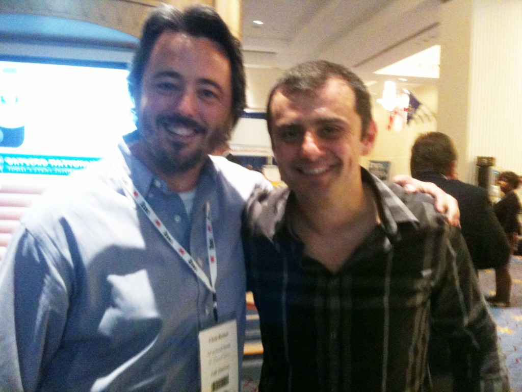 Gary Vaynerchuk Chris Reimer Rizzo Tees Inc 500 Conference