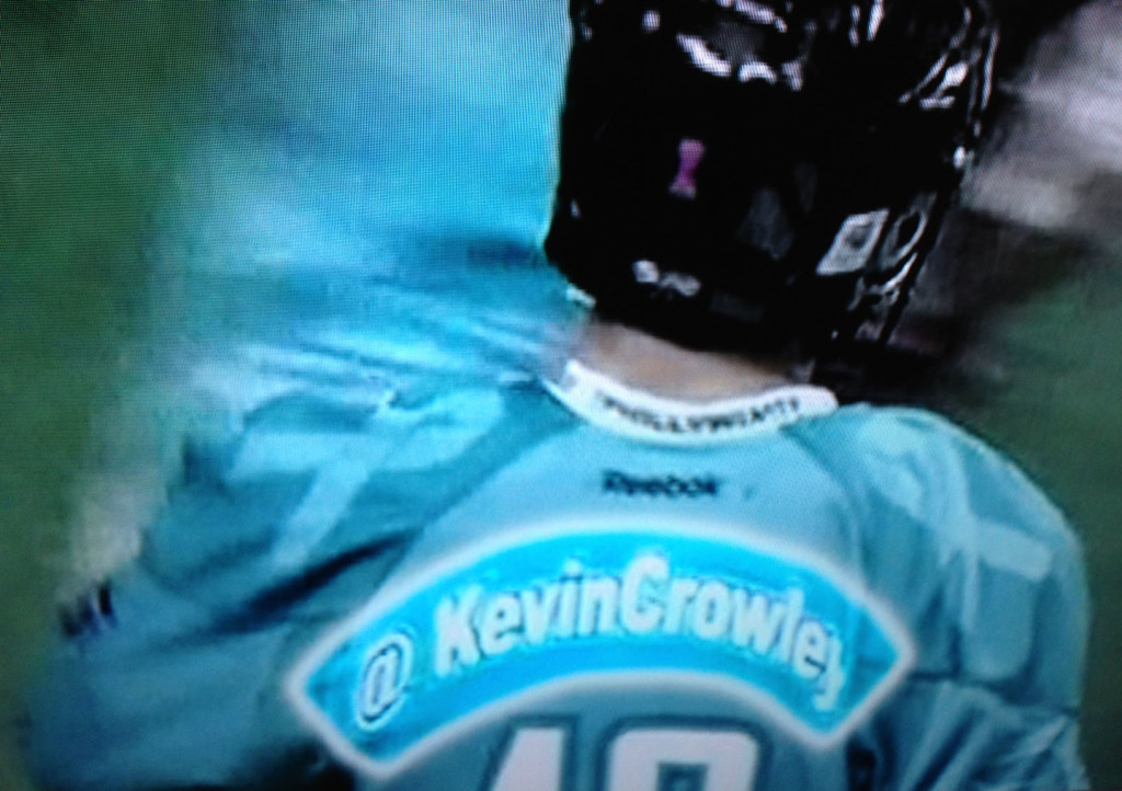 Philadelphia Wings lacrosse jerseys use Twitter names