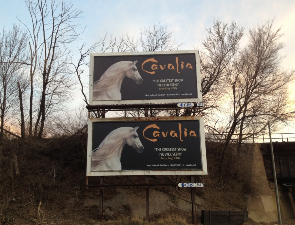 Cavalia billboards